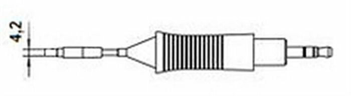 WELLER RT-11 - T0054461199N WMRP/WXMP TALTTA 4,2mm