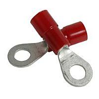 ELEMATIC 11201143 - CIRCULARPLUG RED. 4,3x8,0mm 100pcs