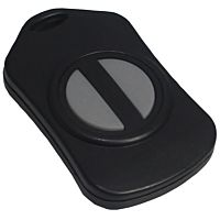 CAMDENBOSS 2955-20R-2 Handheld plastic box 57x35x12mm 2-buttons