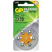 GP BATTERIES ZA10 - HEARING AID BATTERY