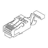 MOLEX 44915-0021 - Long Body Rj-45 Plug Cat 6 shielded