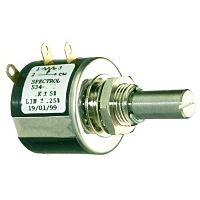 SPECTROL 534-50K - PRECISION POTENTIOMETER. 10-TURN