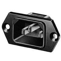 SCHURTER 6100.3300 - Kojeliitin paneeliliitin N 6,3mm