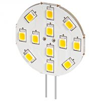 YES LED-G4S-12VA - LED lamppu 12x SMD-LED 6200K