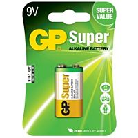 GP BATTERIES 6LF22-GP - ALKALINE CELL 6LF22 9V SUPER 1PC