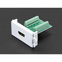 ADAFRUIT ADA3120 - Panel Mount HDMI Socket to Terminal