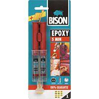 BISON EPOXY 5 - GLUE, FAST