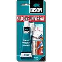 BISON SILICONE K - UNIVERSAL TRANSPARENT