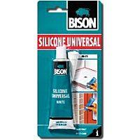 BISON SILICONE V - UNIVERSAL WHITE