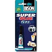 BISON SUPER GLUE GEL - GEL