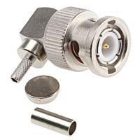 HUS-TSAN Group Co Ltd BNC-02LV1-TGN - BNC plug RG174 r/a crimp / solder