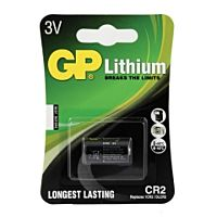 GP BATTERIES CR2-GP - LITHIUM-FOTOBATTERY 3V