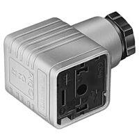 HIRSCHMANN GDML2011-LED24HH - VALVE CONNECTOR +24V LED +DIODE
