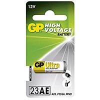 GP BATTERIES 23A-GP - ALKALINE CELL 23A ULTRA 12V 1PC