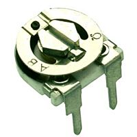 TRIMMER POTENTIOMET.CERMET HORIZONT