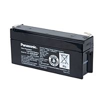 PANASONIC LC-R063R4P - LYIJYAKKU 6V 3,4Ah 6-9 VUOTTA
