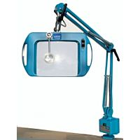 LICO 72400-4B - LOUPE LAMP 20x15cm ESD 4DIOPTR BLUE