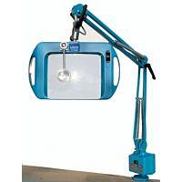 LICO 72400-3B-LED - LOUPE LAMP LED 20x15cm ESD 3 DIOPTR BLUE