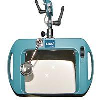 LICO 72400-3B-AR - LOUPE LAMP 20x15cm ESD 3DI ANTI-REFLECTIVE LENS BLUE