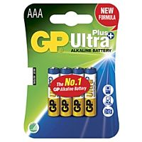 GP BATTERIES LR03 ULTRA PLUS - ALKALINE CELL LR03 AAA ULTRA PLUS