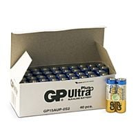 GP BATTERIES LR06 ULTRA PLUS BULK - ALKALINE CELL LR06 AA ULTRA PLUS