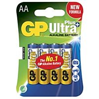 GP BATTERIES LR06 ULTRA PLUS - ALKALINE CELL LR06 AA ULTRA PLUS