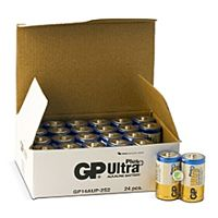GP BATTERIES LR14 ULTRA PLUS BULK - ALKALINE CELL LR14 C ULTRA PLUS