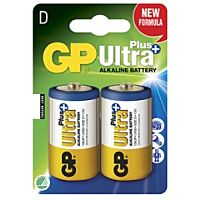 GP BATTERIES LR20 ULTRA PLUS - ALKALINE CELL LR20 D ULTRA PLUS