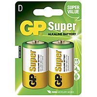 GP BATTERIES LR20-GP - ALKALINE CELL LR20 D SUPER 2PCS