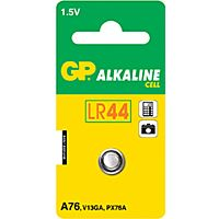 GP BATTERIES LR44-GP - ALKALINE CELL LR44 1.5V