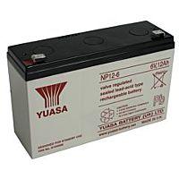 YUASA NP12-6 - LEAD BATTERY 6V 12Ah 4-5 VUOTTA