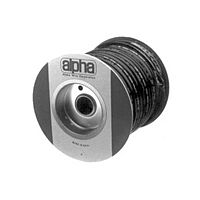 ALPHA PVC-105-6 500FT - TUBE SLEEVING 4.11mm 152m BLACK