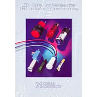 LED-INDICATORS FOR PANEL MOUNT