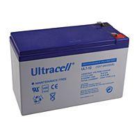 ULTRACELL UL7-12 - Lyijyakku 12V 7Ah 4-5 vuotta