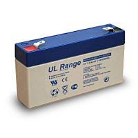 ULTRACELL UL1.3-6 - Lyijyakku 6V 1,3Ah 4-5 vuotta