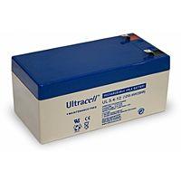 ULTRACELL UL3.4-12 - Lyijyakku 12V 3,4Ah 4-5 vuotta