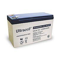 ULTRACELL UL9-12 - Lyijyakku 12V 9Ah 4-5 vuotta