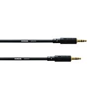 3.5mm Stereoplugi Uros / Naaras 5m