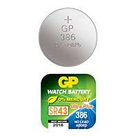 GP BATTERIES SR43W/386F - SILVER OXIDE 386F/SR43W