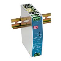 Power supply 75W 24V DIN-rail
