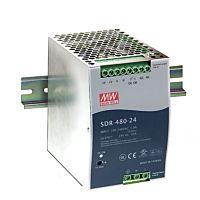 MEAN WELL SDR-480-24 480w 24V Din-rail Power Supply
