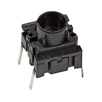 APEM 3FTH9 - TACT SWITCH BLACK MEC 3F SERIES