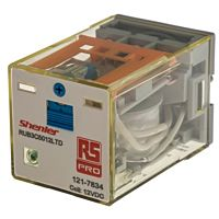 RS Pro  1217834 - GEN PUR RLY 3PCO 12VDC