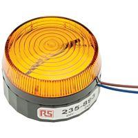 RS Pro Xenon 230V AC keltainen pint