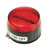 RS Pro  236183 - 10-100V 5W RED LOW XENON
