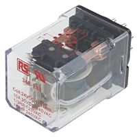 RS Pro  348784 - 8 PINRELAY 24V DC 10AMP