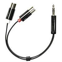 Plugi 3.5mm stereo / 2 x RCA naaras