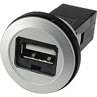 HARTING 09 45 452 1901 - USB2.0 panel jack A-A