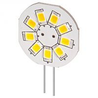 YES LED-G4S-9WVA - WHITE 9XLED G4 BASE