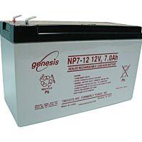 ENERSYS GENESIS NP7-12  LEAD BATTERY 12V 7AH 3-5 YEARS
